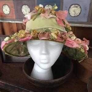 Vintage Garden Party hat
